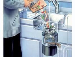 Измельчители пищевых отходов  (диспоузер)