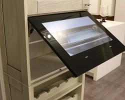 Встроенные телевизоры для кухни
